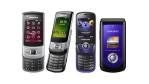 Samsung: Drei neue Slider und ein Klapphandy angekündigt