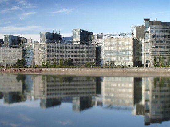Die Nokia-Zentrale in Espoo, Finnland