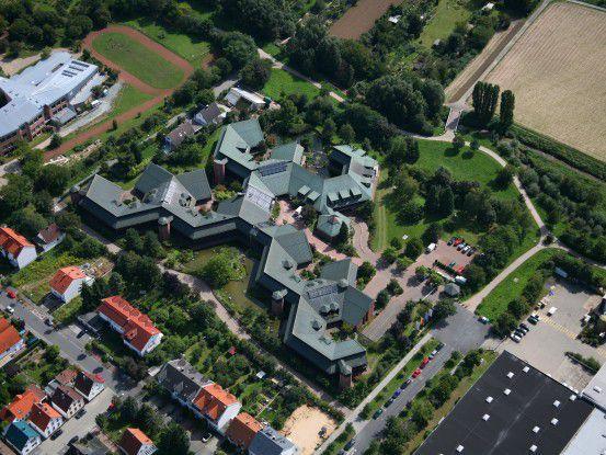 Die Darmstädter Zentrale der Software AG aus der Vogelperspektive (Fotos: Software AG)