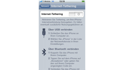 Macnotes.de: Modem-Option für iPhone kommt am 1. September