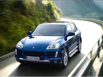 Statussymbol Dienstwagen: Wer einen Porsche Cayenne fährt, hat es geschafft.