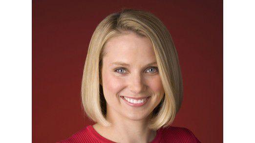 Die neue CEO Marissa Mayer nahm an ihrem ersten Arbeitstag noch nicht gleich am Earnings Call teil.