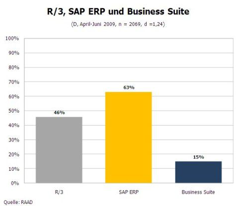 Einsatz SAP R/3, ERP, Business Suite (Quelle: RAAD)