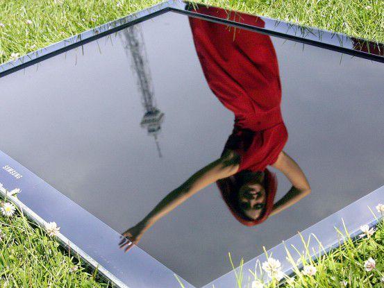 Problem: Hochauflösend ist dieser Tage weit häufiger das Spiegel- als das Fernsehbild.