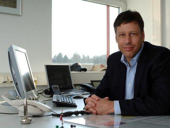 Steigt mit dem FC Bayern bei der Geschäftsplanung von Excel zu SAP BusinessObjects Planning auf: Stefan Mennerich, IT-Manager beim Rekordmeister.