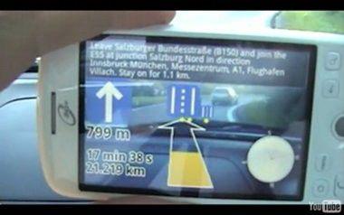 Wikitude Drive: erweiterte Video-Navigation für iPhone und Android.