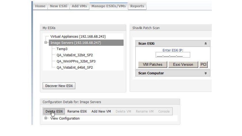 Kostenloses Tool: Mit Go erhält ESXi ein Browser-basierendes Verwaltungstool, das die wichtigsten Basisfunktionen beherrscht.