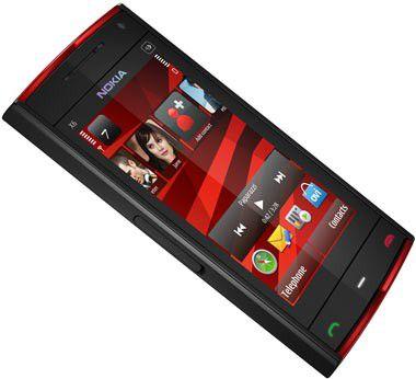 Nokia X6: Musikhandy mit Touchscreen und großem Speicher vorgestellt.
