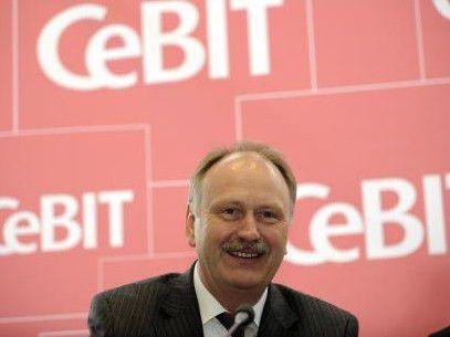 Ernst Raue, Vorstand der Deutsche Messe AG