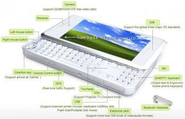 xpPhone: Windows XP-Handy kann man jetzt vorbestellen