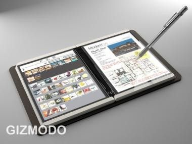 Microsofts Booklet-PC Courier, derzeit eine Designstudie.