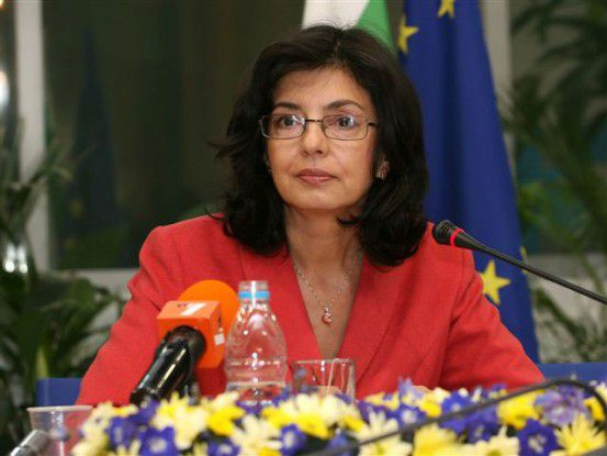 EU-Kommisarin Meglena Kuneva will das Mysterium um die explodierten iPhone-Displays lösen. Foto: EU-Kommission