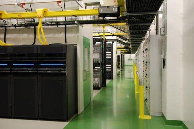 Container statt Racks: Microsoft verbaut in den neuen Rechenzentren die Server in Containern, wie sie für den Warentransport verwendet werden (Quelle: Microsoft).