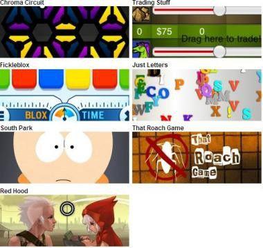 Flash-Demo-Anwendungen aus dem iTunes App Store.
