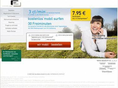 Bildmobil-Nachahmungstäter: WAZ-Verlagsgruppe mit eigenem Prepaid-Tarif.