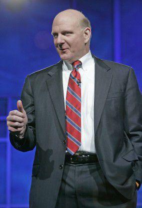 """Microsoft-Chef Steve Ballmer: """"Cloud-Computing wird künftig eine zentrale Rolle in der IT spielen."""""""