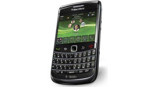 Neue Blackberry-Modelle können eine deutlich höhere Zeichenzahl darstellen.
