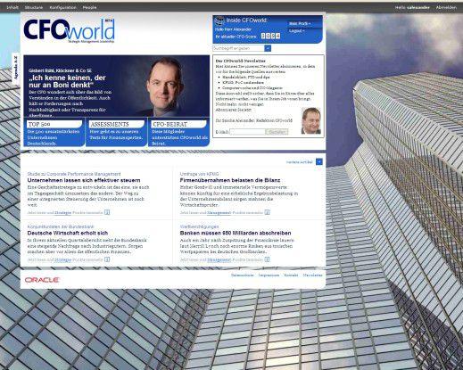 Seit knapp einer Woche ist CFOworld.de online erreichbar.