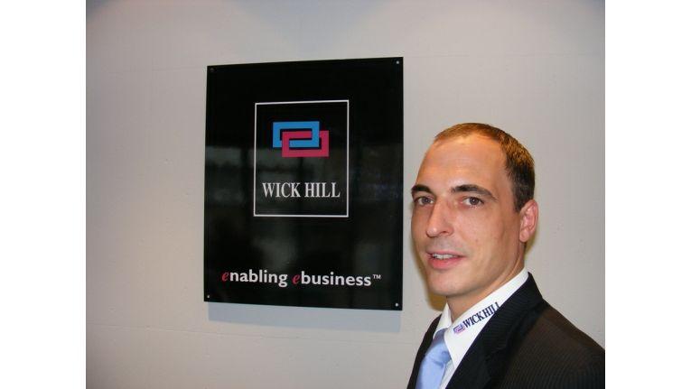 Helge Scherff, Vertriebs-Chef des Hamburger Distributors Wick Hill, warnt vor dem UTM-Hype.