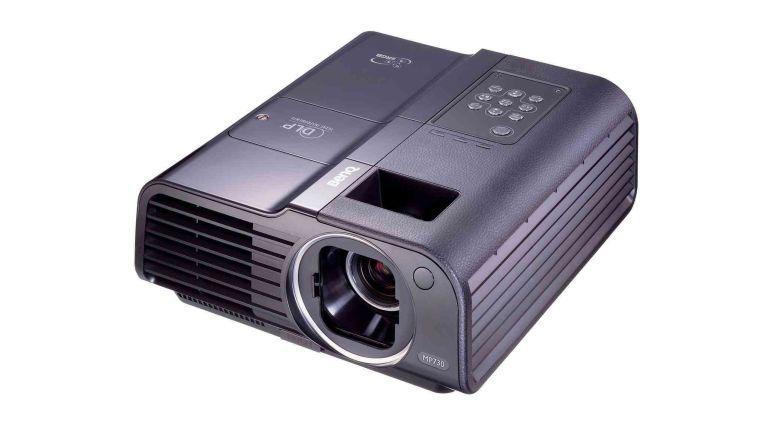 Der MP730 von BenQ hat natives Wide-Format, kann aber auch auf 4:3-Bilder umgeschaltet werden.