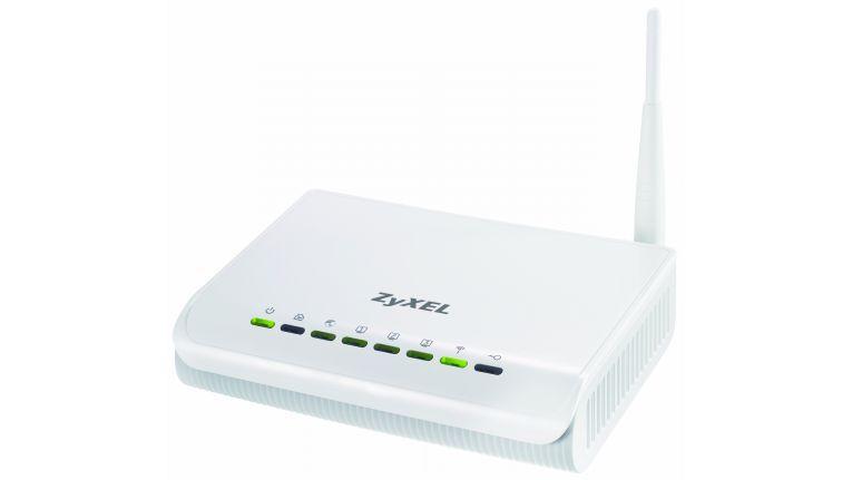 Der Powerline/WLAN/Ethernet-Router NBG-318S von Zyxel kostet 166 Euro.