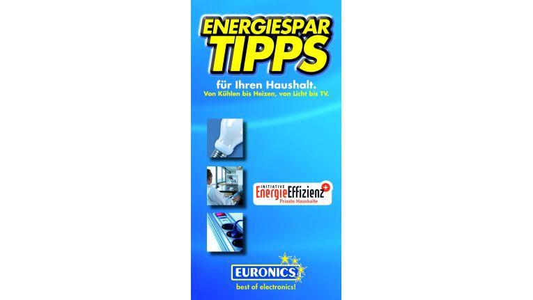 Die neuen Flyer für Euronics-Fachhändler mit praktischen Energiespartipps
