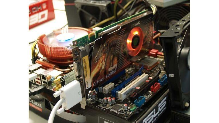 Leise, preiswert und leistungsstark: Nvidias neuer Chip Geforce 8800 GT in der 3D-Karte von Zotac