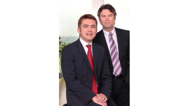 Lenovo-Vertriebsdirektor Robert Pasquier (r.) hat mit Sascha Lekic Unterstützung im Mittelstandsvertrieb bekommen.