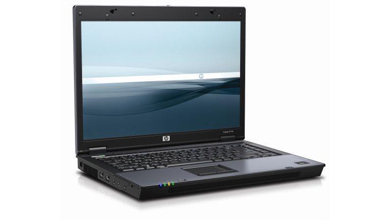 Verkaufsargumente für das Business-Notebook Compaq 6715b von Hewlett-Packard sind unter anderem die hochwertige Verarbeitung und ein gutes Preis-Leistungs-Verhältnis.