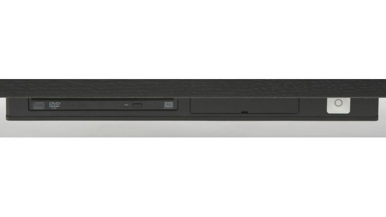 Das Rechnergehäuse ist nur drei Zentimeter dick.