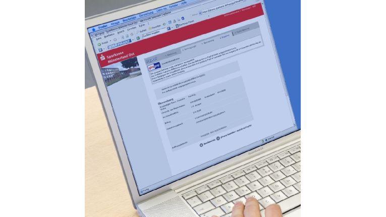 Neue Art der Überweisung: Bei giropay wickeln die Banken über ihr Online-Portal die Zahlungen ab.