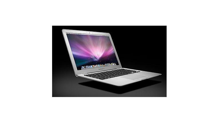 Apples neues MacBook Air hat LED-Backlight und soll das leichteste Notebook seiner Klasse sein.