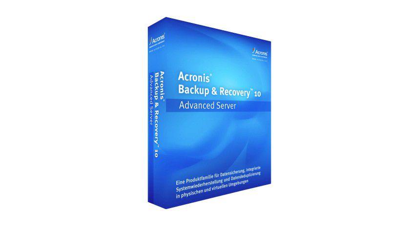 Update: Acronis Backup & Recovery 10 erhält zahlreiche Neuerungen. (Quelle: Acronis)