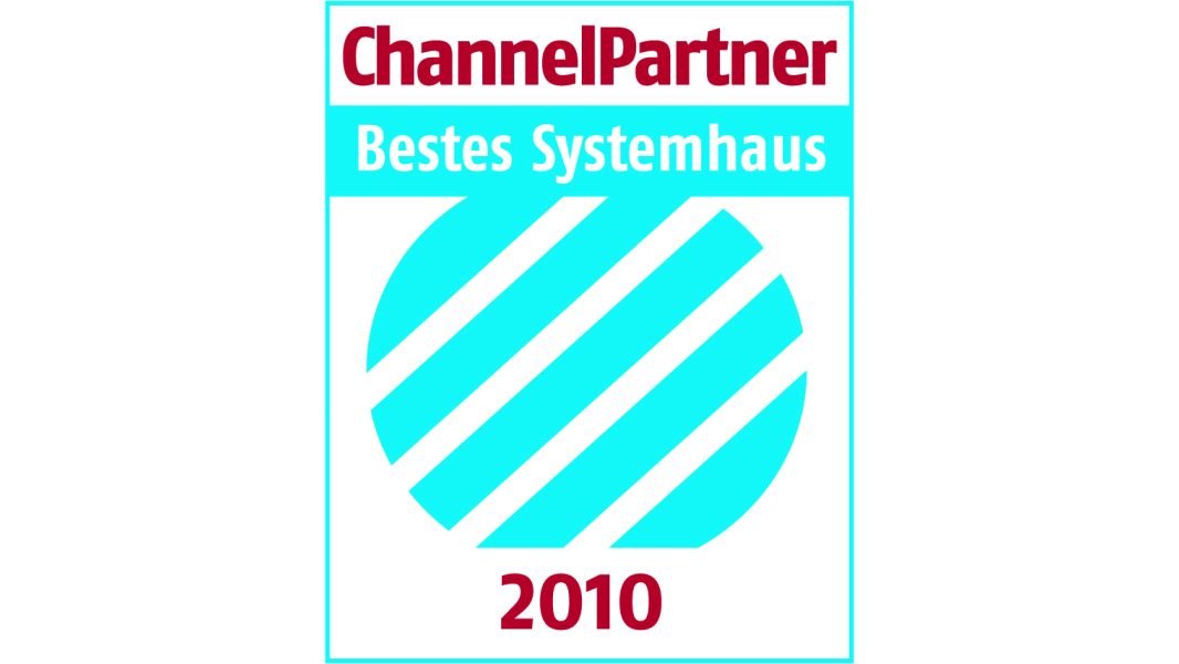 ChannelPartner Award Bestes Systemhaus 2010