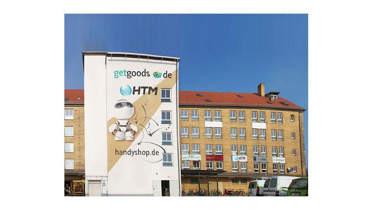 An der Wachstumsgrenze: Der Firmensitz des Onlinehändlers GetGoods in Frankfurt/Oder