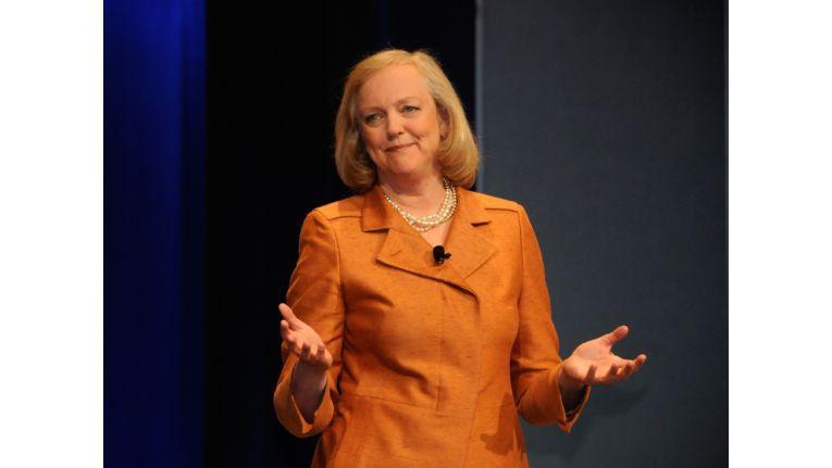 HP-Konzernchefin Meg Whitman reagiert auf Einbruch im PC-Geschäft