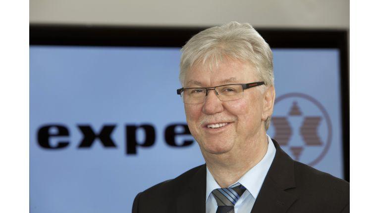 """Volker Müller, Vorstandsvorsitzender der Expert AG: """"E-Commerce soll für zusätzliche Umsätze im stationären Geschäft sorgen!"""""""