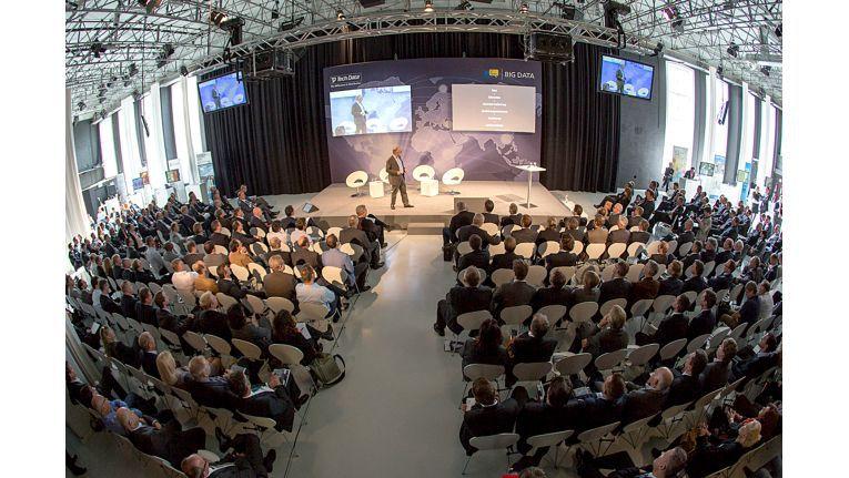 Über 300 Teilnehmer am Big Data-Kogress von Tech Data - das waren mehr Besucher als die meisten erwartet haben.
