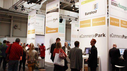 Gegenüber dem Vorjahr hat sich die Ausstellungsfläche des eCommerceParks fast verdoppelt.
