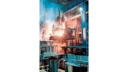 Ein Blick in die Produktion bei SGL Carbon.