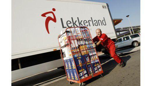 Lekkerland-Lieferung an die eigenen Shops, Kioske, Convenience-Stores und Fast-Food-Ketten.