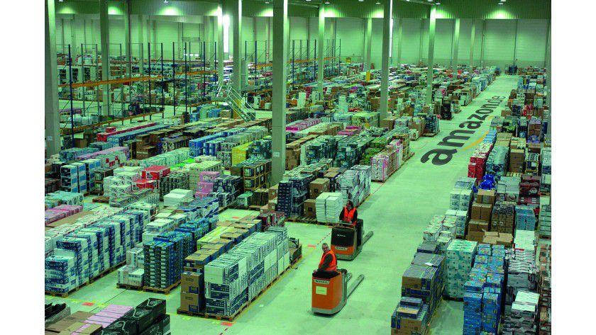 Die Herren der Pakete: Amazon belegte wie schon im Vorjahr den dritten Platz im SCM-Ranking.