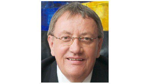 Claus Moldenhauer, IT-Vorstand der DAK, rechnet durch die IT-Holding mit Einsparungeseffekten von mindestens 20 Prozent.
