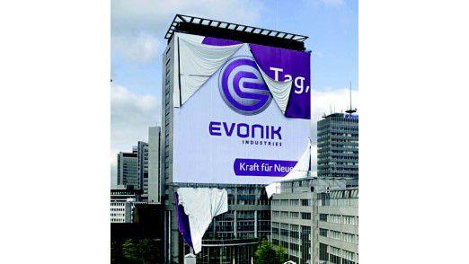 Evonik wurde durch guten Service und skalierbare Tools überzeugt.
