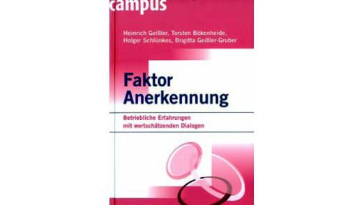 Campus Verlag, Frankfurt 2007, 277 Seiten; 49,90 Euro