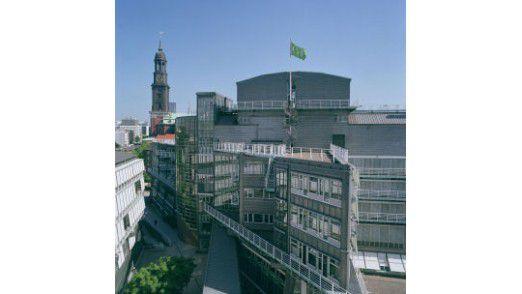 Gruner + Jahr Pressehaus in Hamburg