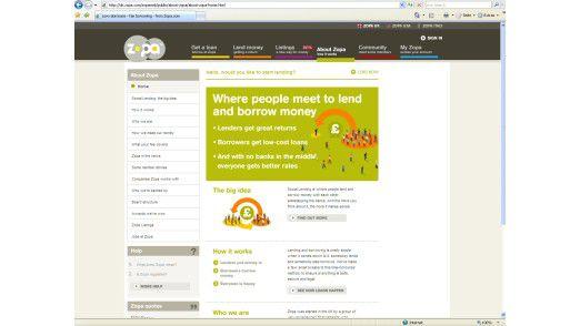 Bei Zopa leihen Privatleute unter Umgehung der Banken Geld an Privatleute - mit wachsendem Erfolg