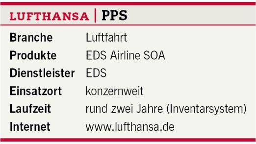 Die Umstellung des Passenger Service Systems.