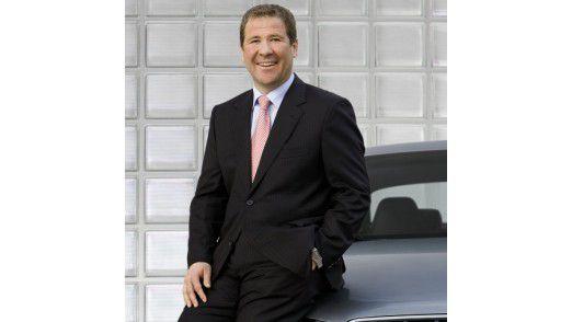 """Klaus Straub, CIO beim Automobilhersteller Audi: """"Wenn jemand zu uns kommt, weil es hier ein paar Euro mehr gibt, dann will ich ihn gar nicht haben. Die Frage muss vielmehr sein: Wie kann ich mich beruflich entwickeln?"""" Denn wenn sich meine Stelle entwickelt, dann stimmt auch das Gehalt."""""""