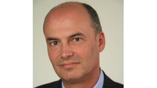 Daniel Hartert, Chef von Bayer Business Services.